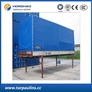 Good Quality PE Coated Durable Waterproof Container Tarp/Tarpaulin pictures & photos