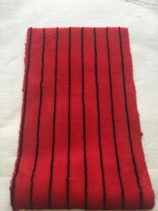 Red Black Line Panint Roller Fabric pictures & photos