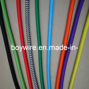 Decorative Cable Pattern Cloth Covered Wire, Textile Braided Cable (BYCOT) pictures & photos
