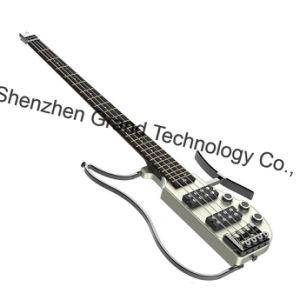 Unique Design 4 String Headless Electric Bass Guitar (RG100) pictures & photos