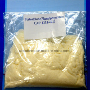 High Purity Anabolic Steroid Hormone Testosterone Phenylpropionate for Muscle 1255-49-8