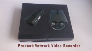 4CH 1080P Real Time Record Built-Poe Power Network Video Recorder