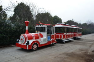 China, Outdoor, Anusement Park, Diesel, Tourist, Trackless Train pictures & photos