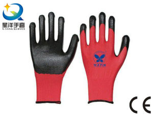 Natrile Glove Safety Work Gloves (N7003) pictures & photos