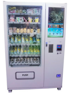 "Large Combo Vending Machine with 26""LCD Advert Screen (KM006-M26) pictures & photos"