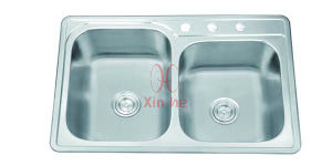 Stainless Steel Kitchen Sink, Stainless Steel Sink (D67) pictures & photos