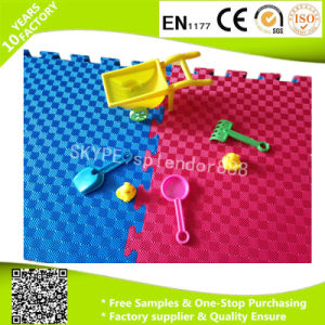 25mm Thickness Double T Pattern Soft EVA Foam Mat Floor pictures & photos