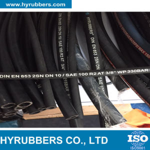 Hydraulic Hose SAE 100 Standard R2 Rubber Hose pictures & photos