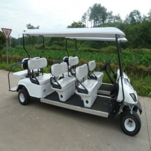 Hot Sale! Eight Seats Golf Cart (JDGF-E503B) pictures & photos