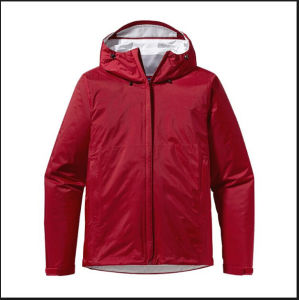 Red Women Fashion Parka Coat Simple Classic Jacket pictures & photos