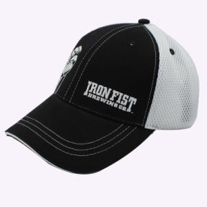 Embroidery Logo Trucker Cap with Mesh Back pictures & photos