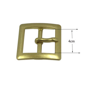High Quality Gold Plated Metal Belt Buckle Pin Belt Buckle pictures & photos