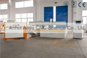 Leather Water Jet Cutting Machine with CE pictures & photos