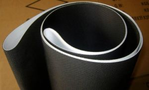 2mm PVC Conveyor Belt with Shallow Diamond Pattern for Treadmill and Logistics pictures & photos