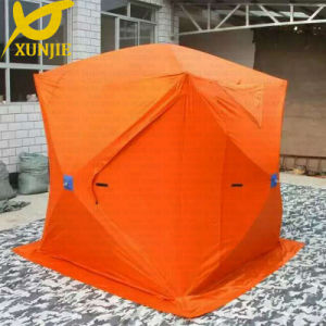 Orange Oxford Ice Fish Tent Shelter