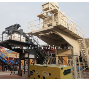 50m3/H Unique Technology Automatic Mobile Concrete Batching Plant