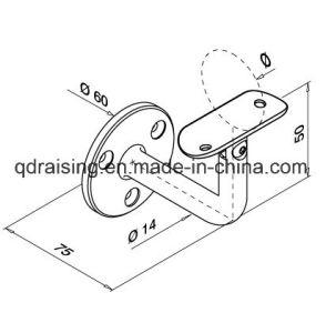 Adjustable Stainless Steel Handrail Bracket Satin Finish pictures & photos