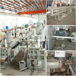 PPR/FRP/PPR Three Layer Pipe PPR Fiberglass Pipe Extrusion Line