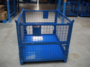 Industry Foldable Metal Wire Mesh Container pictures & photos