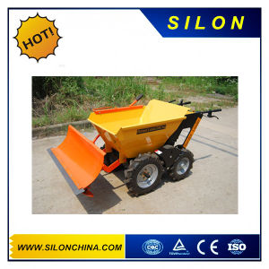5.5 HP Gasoline Tracked Power Barrow/Self-Loading Mini Dumper pictures & photos