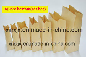 Sos Square Bottom Paper Bag Making Machine Paper Shopping Bag Making Machine pictures & photos