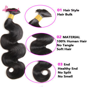 Body Wave Factory Peruvian Wholesale Hair Braids in Bundle with Human Hair pictures & photos