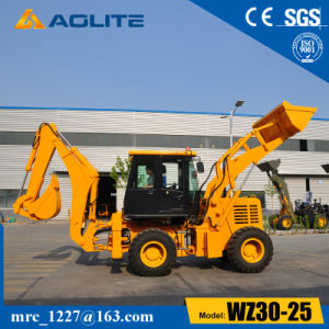 Chinese 2.5ton New Model Small Backhoe Wheel Loader Wz30-25 for Sale pictures & photos