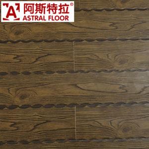Deep Embossed Wood Grain Laminate Flooring pictures & photos