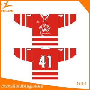 Healong Bespoke Sportswear Full Dye Sublimation Hockey Jersey for Sale pictures & photos