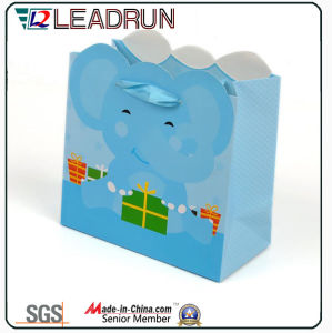 Gray Offset Paper Cardboard Art Coated Hand Paper Corrugated Paper Custom Paper Packing Bag (F94) pictures & photos