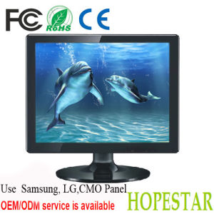 15 Inch LCD Monitor HDMI with RCA Video Input pictures & photos