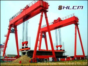 Precast Gantry Crane (HLCM-13) with SGS pictures & photos