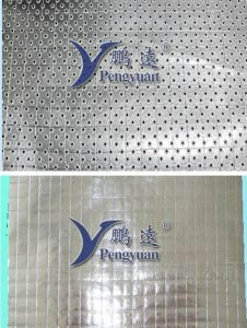 Perforated Kraft Paper Fiber Scrim Aluminium Foil Facing pictures & photos