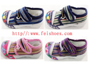 Best Seller Popular Baby Shoes Canvas Shoes pictures & photos