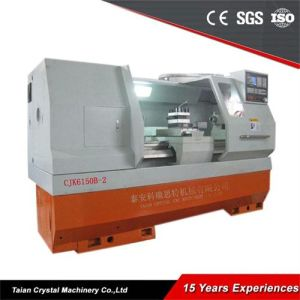Economic Metal Lathe CNC Heavy Duty Lathe Machine (CJK6150B-2) pictures & photos