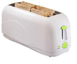 4 Slice Toaster / White (WT-4001A)