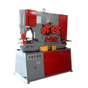 China Multifunction Punch Shear and Notching Machine, Hydraulic Ironworker for Hole Punching pictures & photos