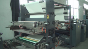 Full Automatic Flexo Printing and Saddle Stitch Notebook Production Line pictures & photos