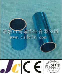Blue Anodized Aluminium Pipes, Customized Aluminium Round Pipe (JC-P-50191) pictures & photos