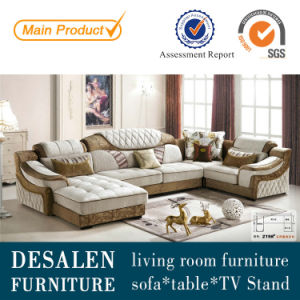 U Shape Best Quality Middle East Fabric Sofa (2198) pictures & photos