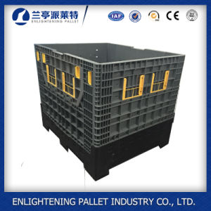 Foldable Plastic Pallet Container Packing Box for Sale pictures & photos