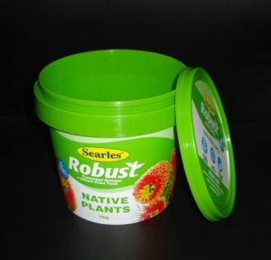 Small Food Grade Candy Plastic Pails with Printing