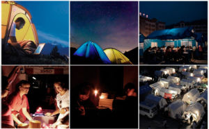Portable 3W Outdoor Rechargeable Solar LED Camping Tent Lamp pictures & photos