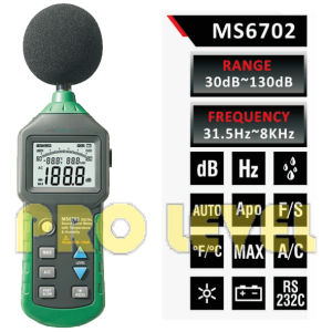 Professional Digital Sound Level Meter (MS6702) pictures & photos