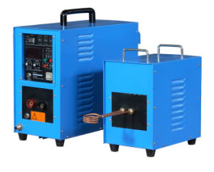 Copper Electric Contact Induction Brazzing Machine pictures & photos