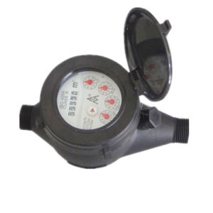 Dn15-30 mm Black Brass Body Water Flow Meter pictures & photos