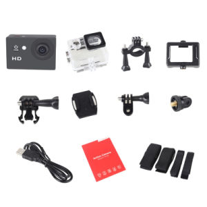 HD 720p Action Camera Wide Angle Waterproof Mini DV Sport Camera pictures & photos