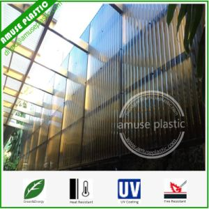Lexan Bayer, Policarbonato, Hollow Solid Corrugated Polycarbonate Wall Roofing Sheet pictures & photos