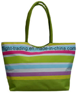 Fashion Laides Women Cotton Canvas Beach Tote Hand Bag pictures & photos