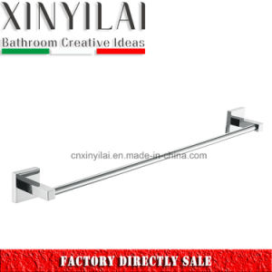 Factory Price-3392 Bathroom Chrome Plate Brass Single Towel Bar pictures & photos